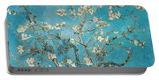 Almond Branches In Bloom Portable Battery Charger