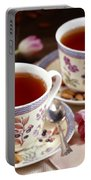 Almond Tea For Two Portable Battery Charger