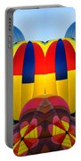 Almost Inflated Hot Air Balloons Mirror Image Portable Battery Charger