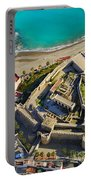 Almunecar Castle From The Air Portable Battery Charger