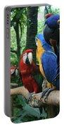 Aloha Kaua Aloha Mai No Aloha Aku Beautiful Macaw Portable Battery Charger