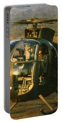 Aloha  Oh-6 Cayuse Light Observation   Helicopter Lz Oasis Vietnam 1968 Portable Battery Charger