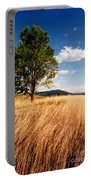Alone On A Hill Portable Battery Charger