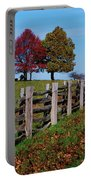 Along The Fence Portable Battery Charger