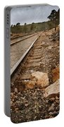 Along The Tracks Portable Battery Charger