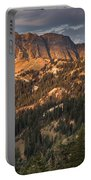 Alpenglow On Brokeoff Mountain Portable Battery Charger