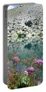 Alpine Lake And Flora Portable Battery Charger