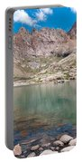 Alpine Lake Beneath Sunlight Peak Portable Battery Charger