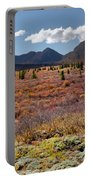 Alpine Landscape In Fall Portable Battery Charger