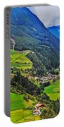 Alpine Meadow Portable Battery Charger