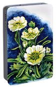Alpine Ranunculus Portable Battery Charger