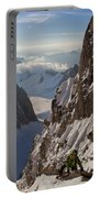 Alpinist On High Mountain Arete Portable Battery Charger