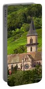 Alsace Church Portable Battery Charger by Brian Jannsen