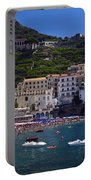 Amalfi Beach And Town Portable Battery Charger