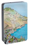 Amalfi Coast Praiano Italy Portable Battery Charger