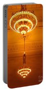 Amazing Antique Chandelier - Grand Central Station New York Portable Battery Charger