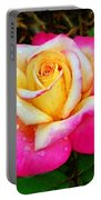 Amazing Red Yellow Rose Portable Battery Charger