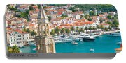 Amazing Town Of Hvar Harbor Portable Battery Charger