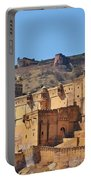 Amber Fort View - Jaipur India Portable Battery Charger