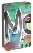 Amen- Colorful Word Art Painting Portable Battery Charger