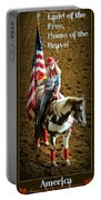 America -- Rodeo-style Portable Battery Charger