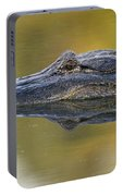 American Alligator Reflection Portable Battery Charger
