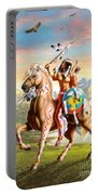 American Brave Portable Battery Charger by Adrian Cherterman