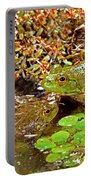 American Bullfrogs Rana Catesbeiana Portable Battery Charger
