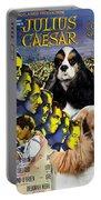 American Cocker Spaniel Art - Julius Caesar Movie Poster Portable Battery Charger