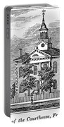 American Courthouse, 1844 Portable Battery Charger