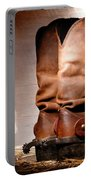 American Cowboy Boots Portable Battery Charger