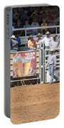 American Cowboy Bucking Rodeo Bronc Portable Battery Charger