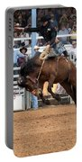 American Cowboy Riding Bucking Rodeo Bronc I Portable Battery Charger