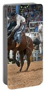 American Cowboy Riding Bucking Rodeo Bronc II Portable Battery Charger
