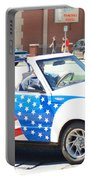 American Flag Car Portable Battery Charger