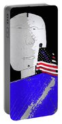 American Flag Collage Tucson Arizona Mid 1980's-2013 Portable Battery Charger