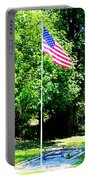 American Flag - Honoring John Portable Battery Charger
