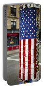 American Flag Tiles Portable Battery Charger