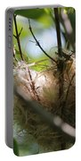 American Goldfinch Nest Under Construction Portable Battery Charger