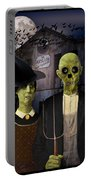American Gothic Halloween Portable Battery Charger