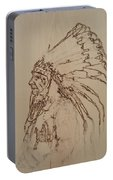 American Horse - Oglala Sioux Chief - 1880 Portable Battery Charger