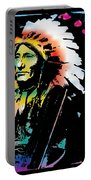 American Indian Silo Portable Battery Charger