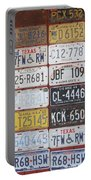 American License Plates Portable Battery Charger