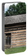 American Log Cabin Portable Battery Charger by Frank Romeo