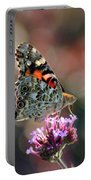 American Painted Lady Butterfly 2014 Portable Battery Charger
