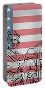 American Patriots Portable Battery Charger by Dan Sproul