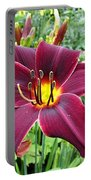American Revolution Daylily Portable Battery Charger
