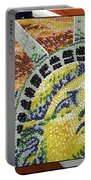 American Statue Of Liberty Mosaic  Portable Battery Charger