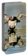 American Wigeon Drake Portable Battery Charger
