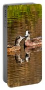 American Wigeon Pair Together Portable Battery Charger